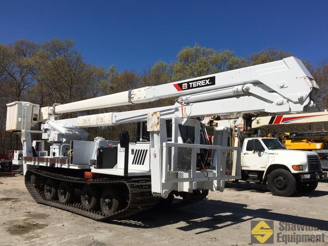 2015 terex rmx75 80 ft tracked material handling bucket shawmut rh shawmutequipment com Terex Backhoe Replacement Parts Telelect Bucket Trucks